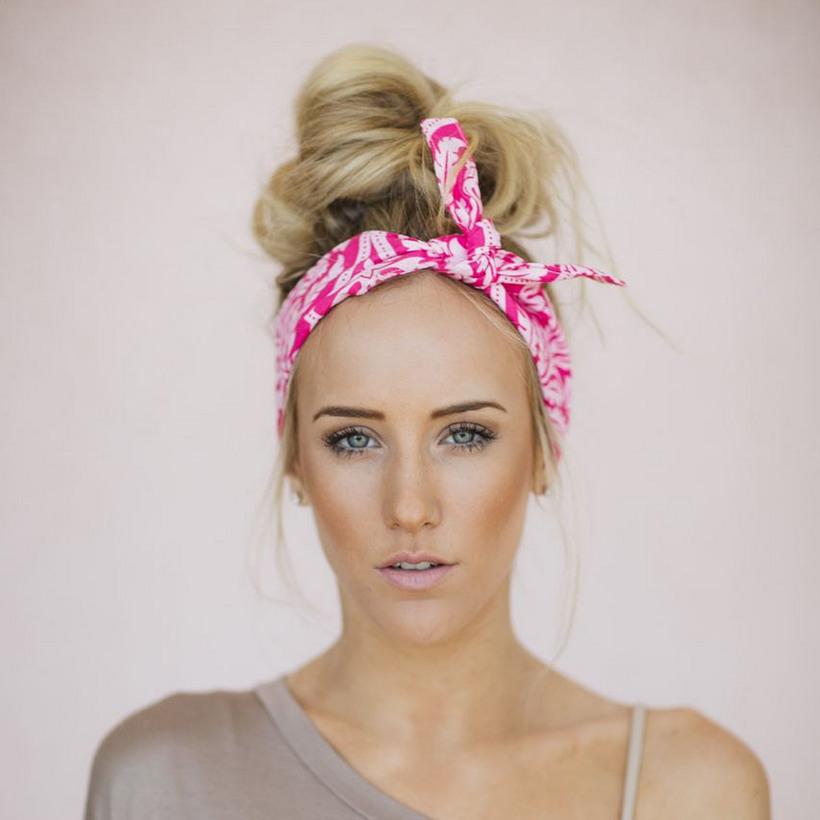 повязка на голову с чем носить фото фото рецепт