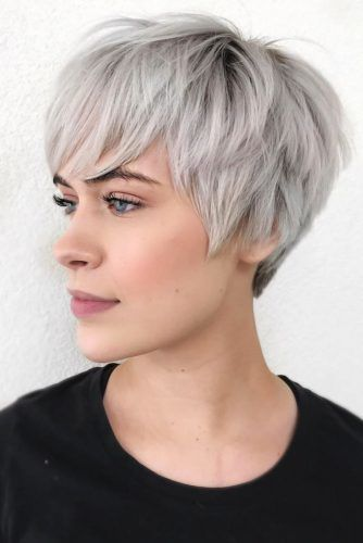 Pixies For Oval Face Shape #shorthair #faceshapehairstyles