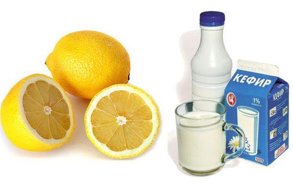 Кефирно лимонной диете