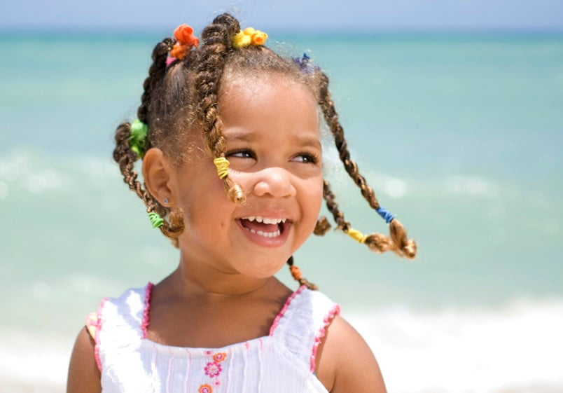 Cute Little Black Girl Braided Hairstyles for School