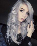 Бело голубые волосы – Ой!