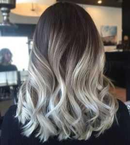 Шатуш на тёмные длинные волосы | Прически, Балаяж, Советы по ... | 300x268